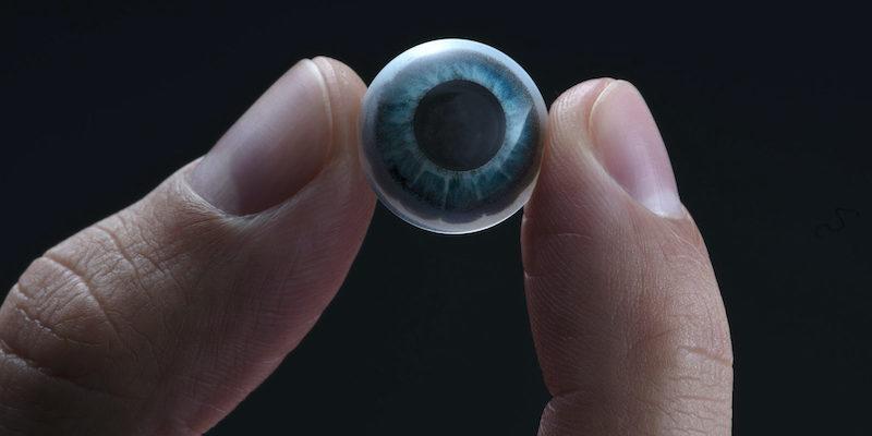 Mojo Vision Lens AR contact lens