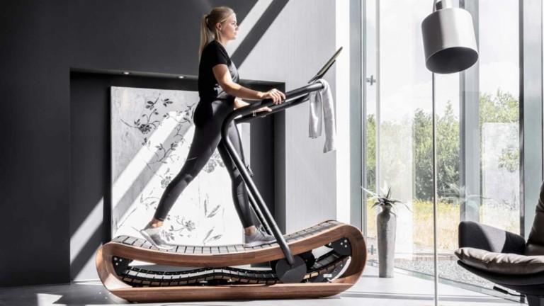 NOHrD Sprintbok curved manual treadmill