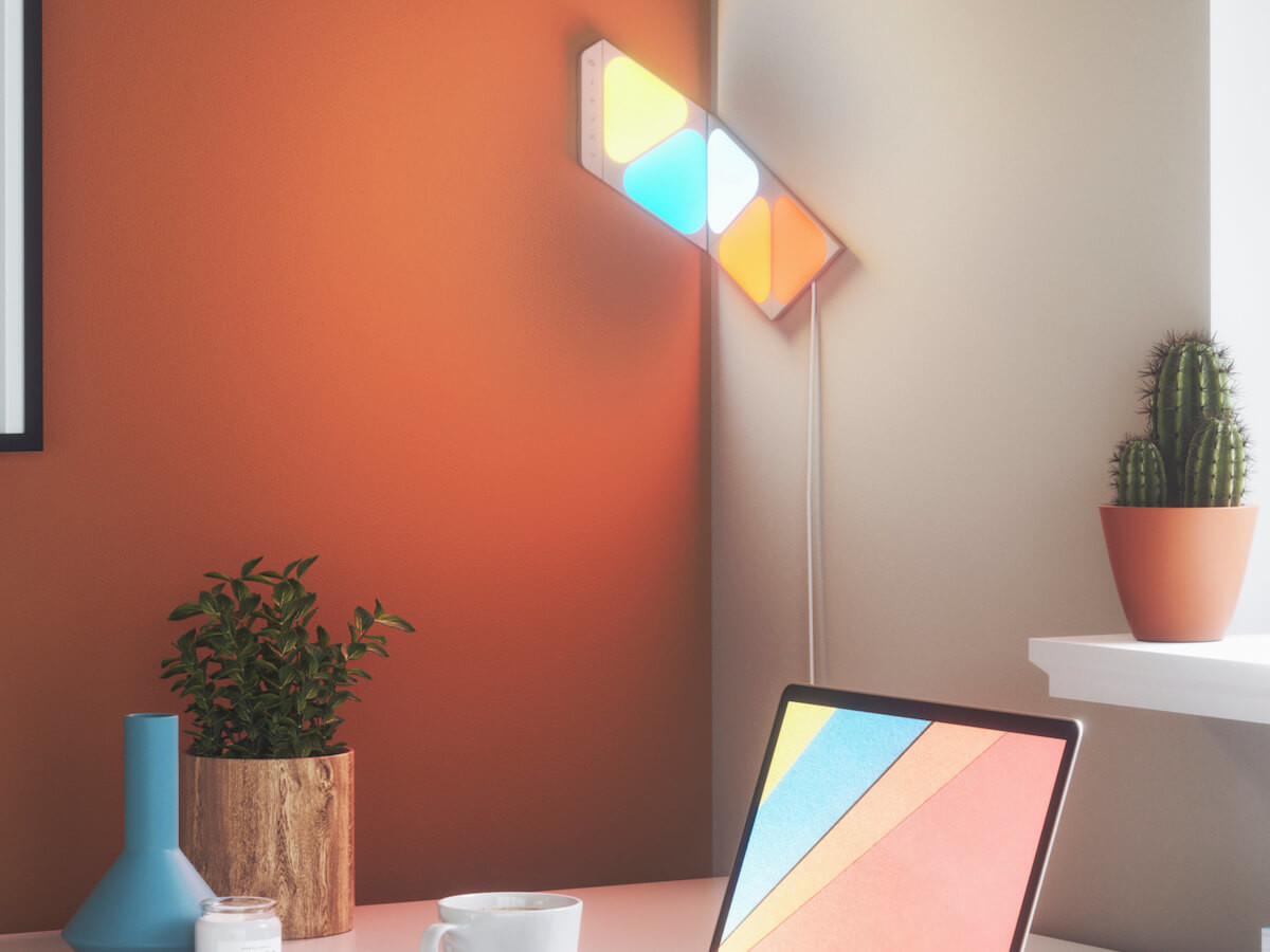 Nanoleaf Shapes modular smart wall decor lets you discover limitless lighting