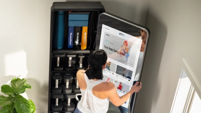 NordicTrack Vault is a home workout system that includes all the gym equipment you need