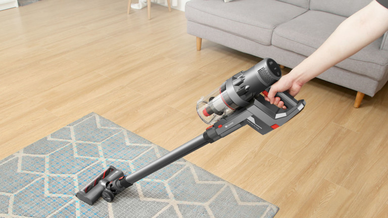 Proscenic P11 cordless vacuum cleaner provides 25,000 Pa of suction