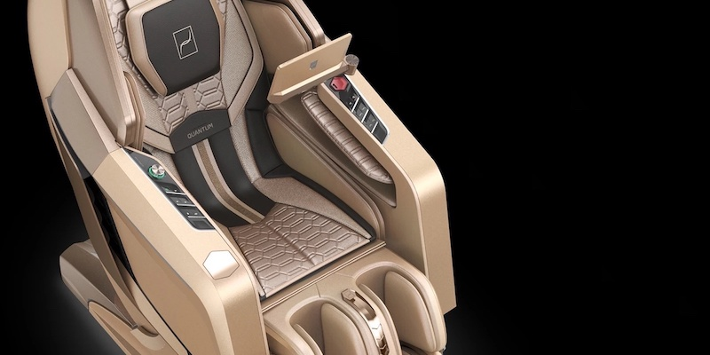 QUANTUM Audio Speakers by Bang & Olufsen massage chair