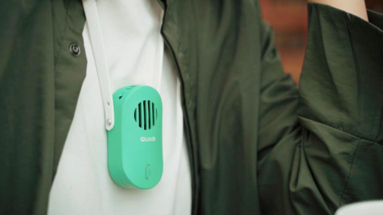 Quair Plasma Mini wearable air purifier