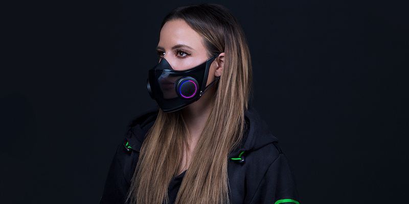 Razer Project Hazel N95 smart mask concept