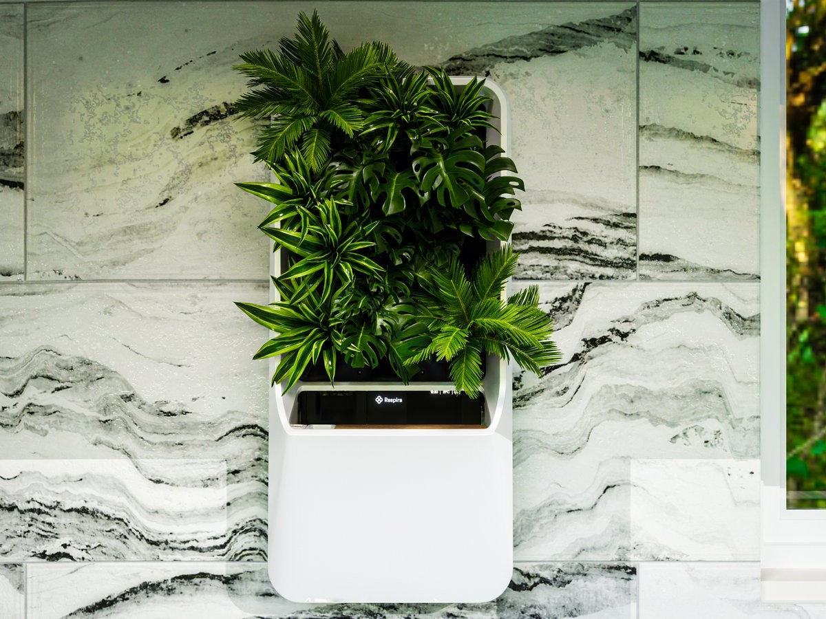 Respira air-purifying garden lets you feel in touch with nature at home