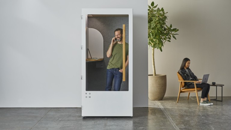 Room Phone Booth soundproof privacy room provides a quiet spot in the open office