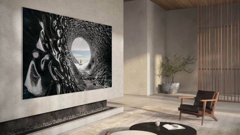 """Samsung 110"""" MicroLED TV features 8 million pixels and four split screens"""