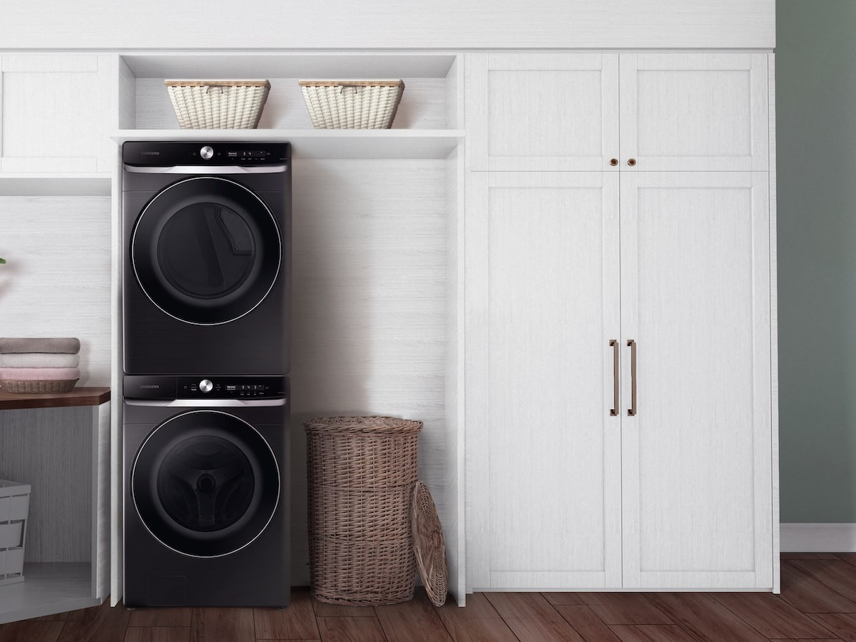 Samsung 8800 Series Smart Dial Front Load washers and dryers use AI technology