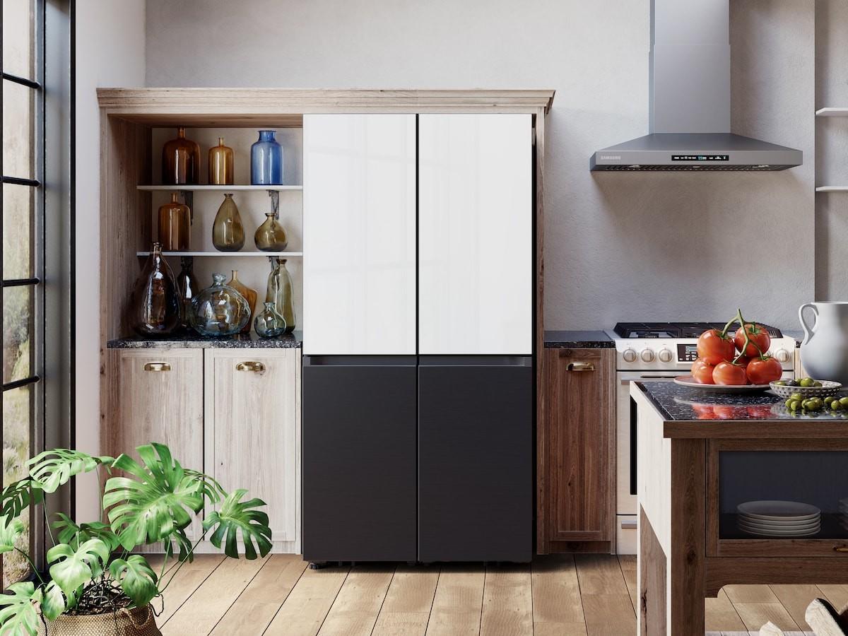 Samsung Bespoke 2021 4-Door Flex refrigerator offers customizable food management