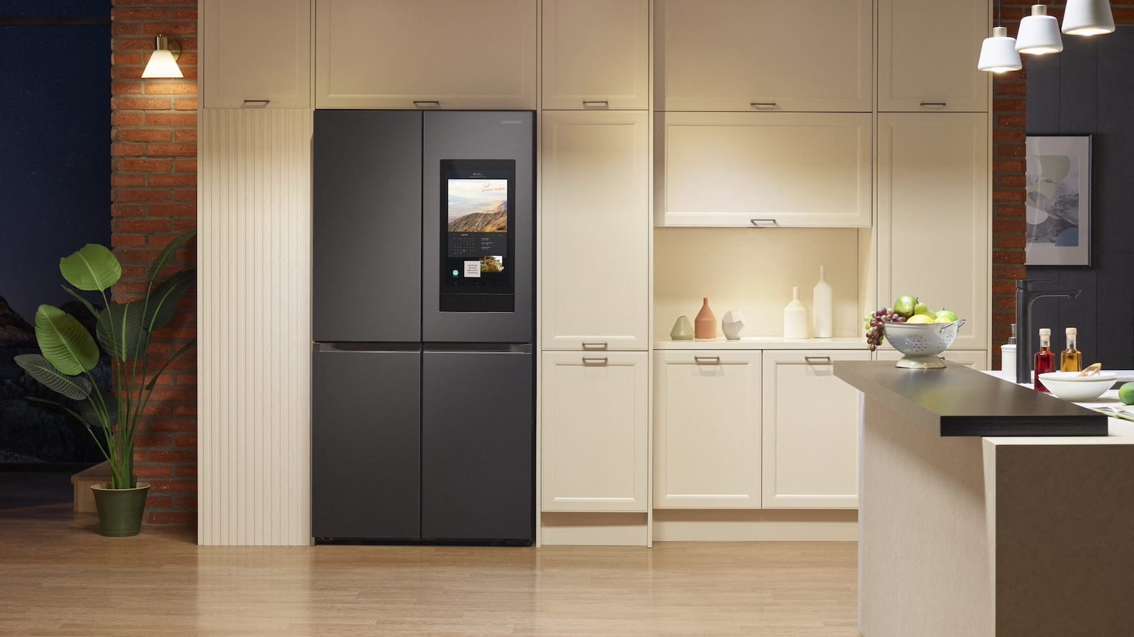 Samsung Family Hub 2021 smart refrigerator series has an upgraded SmartThings widget