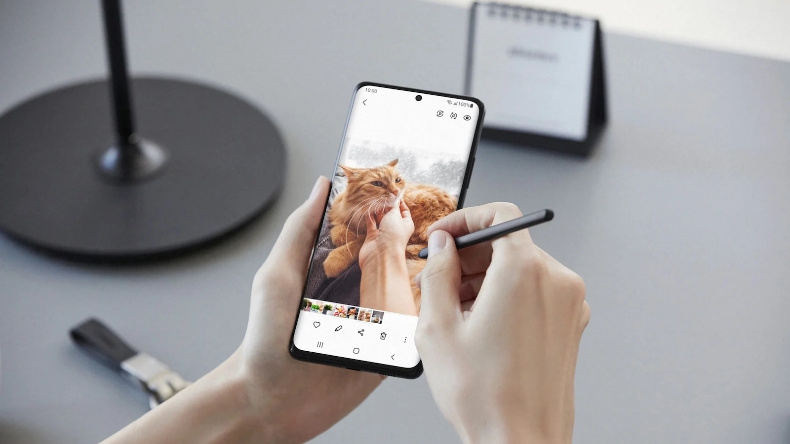 Samsung Galaxy S21 Ultra 5G S-Pen makes writing and sketching feel natural