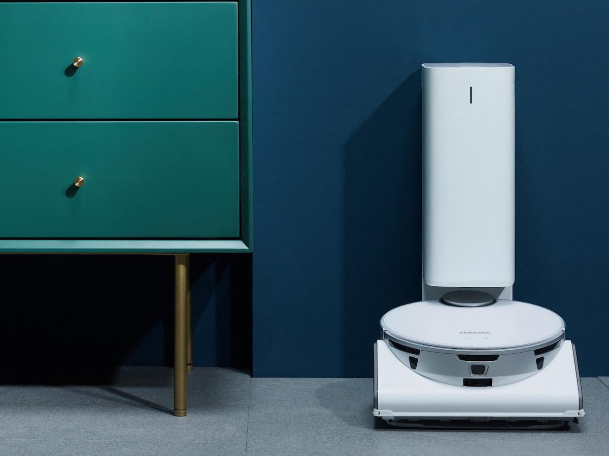 Samsung JetBot 90 AI+ robotic vacuum features AI-based sensors and navigation