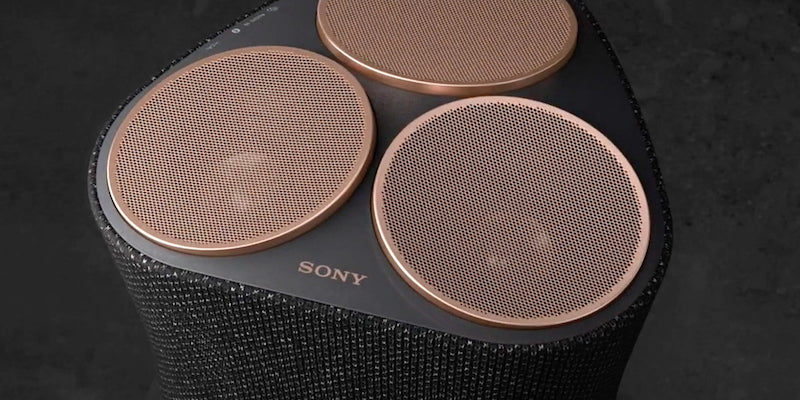 Sony 360 Reality Audio Speakers