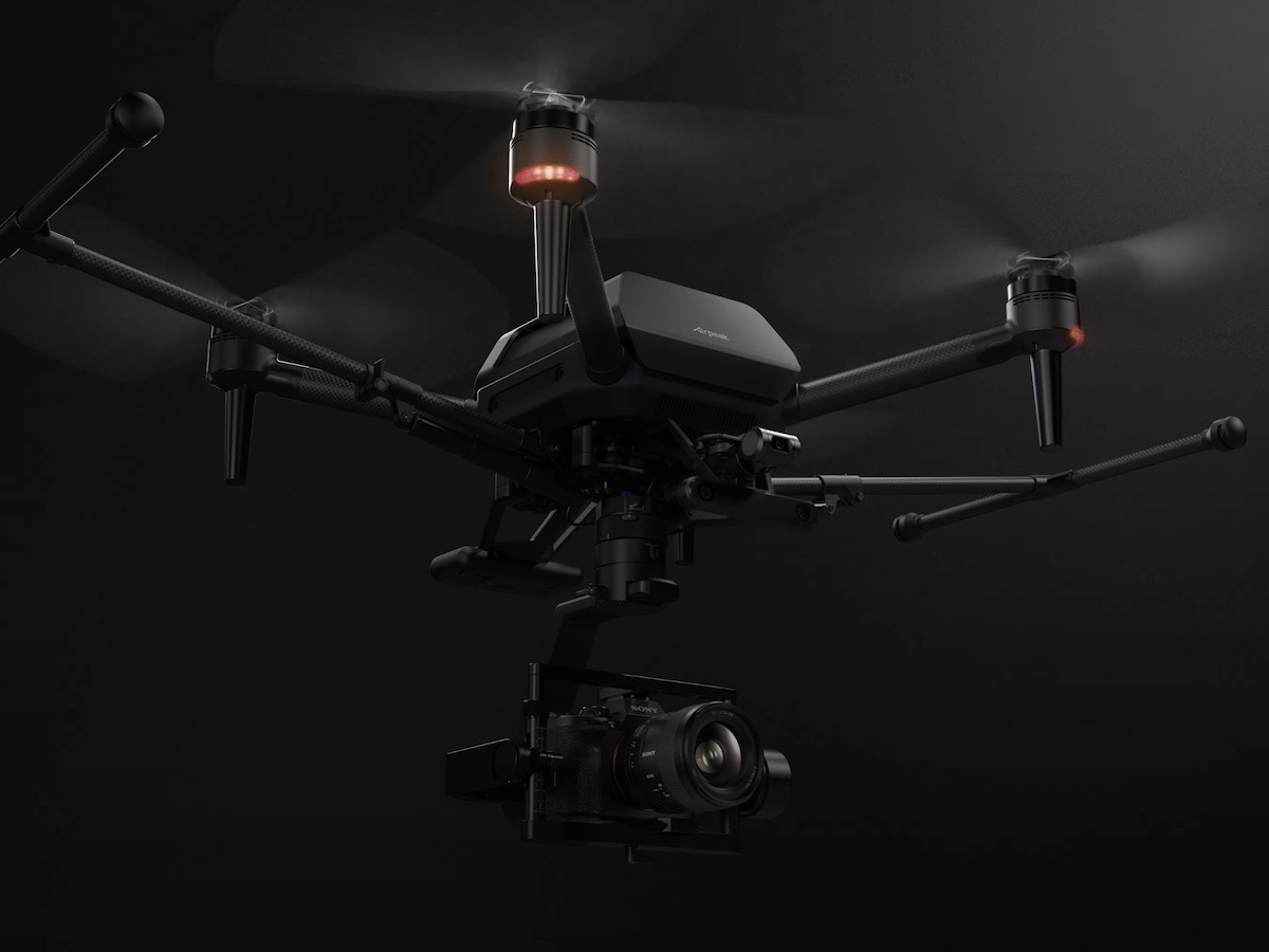 Sony Airpeak drone is a small drone that carries the Alpha camera system