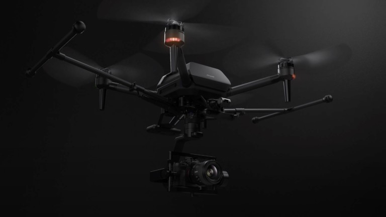 Sony Airpeak Drone is the smallest drone to carry the Alpha camera system