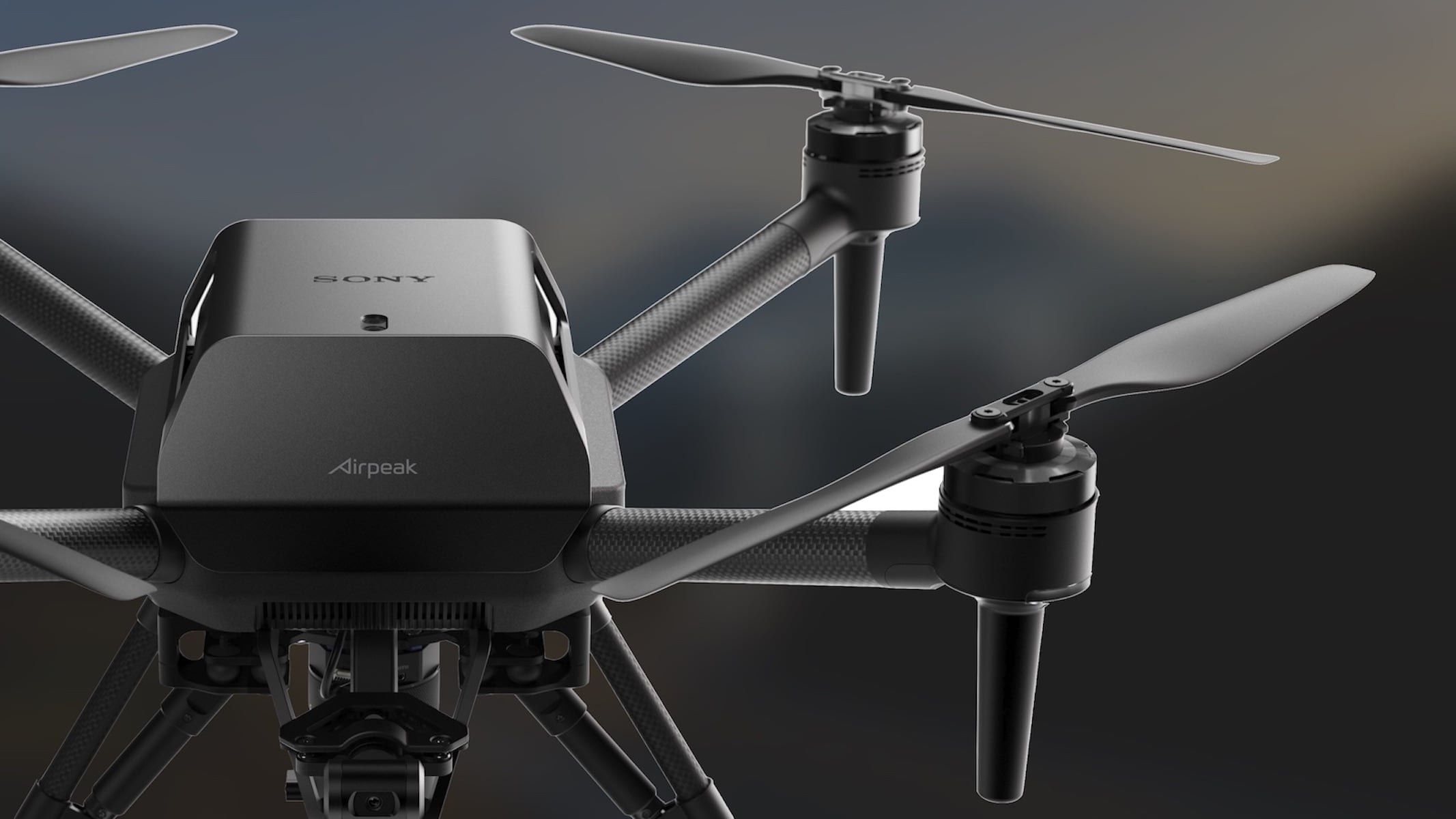 Sony's Airpeak Drone design