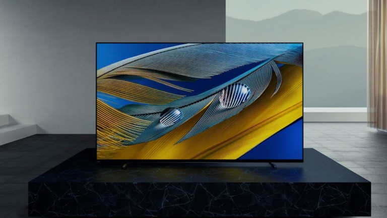 Sony BRAVIA XR A80J OLED TV harmonizes sound and visuals with the Cognitive Processor XR
