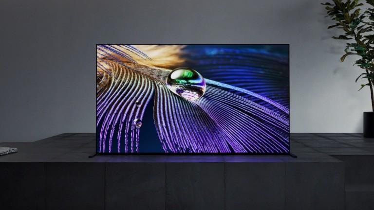 Sony BRAVIA XR MASTER Series A90J OLED TV has a seamless edge design