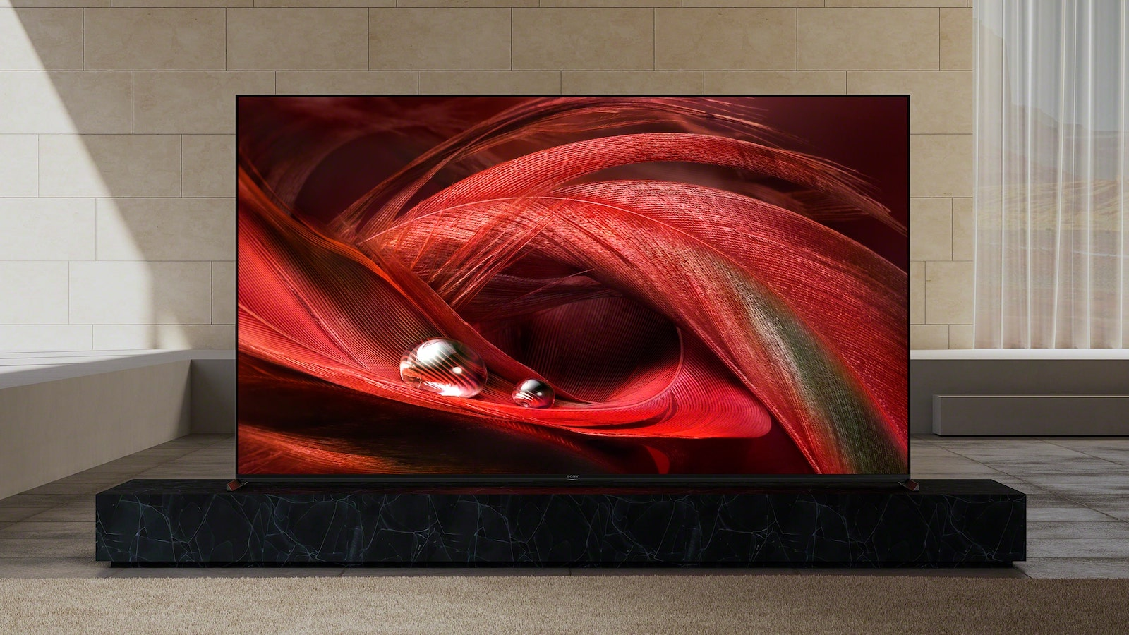 Sony BRAVIA XR X95J 4K LED TV boasts a premium 4K HDR picture