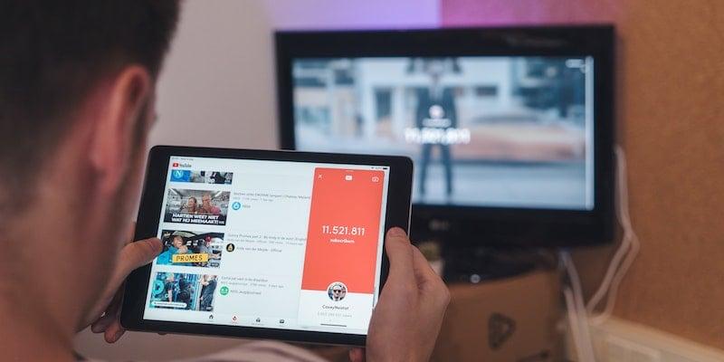 YouTube streaming on iPad