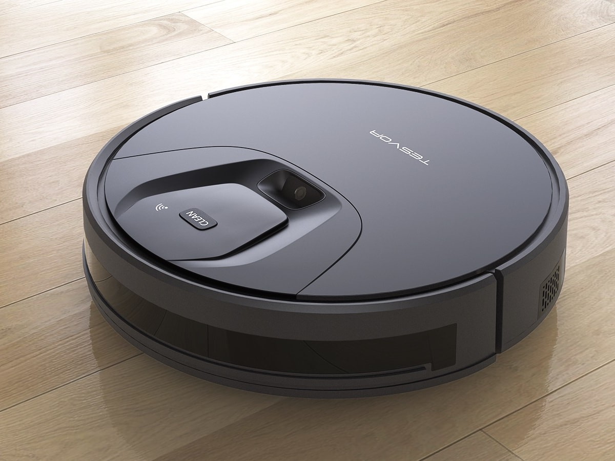 Tesvor T8 robotic vacuum is a 2-in-1 device that sweeps and mops