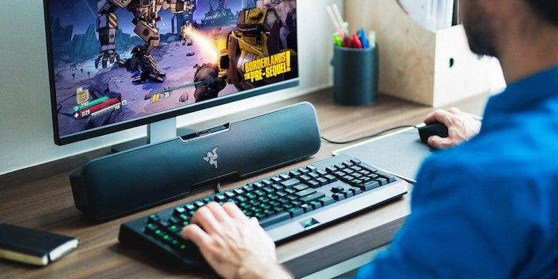 Razer Leviathan desktop Bluetooth soundbar