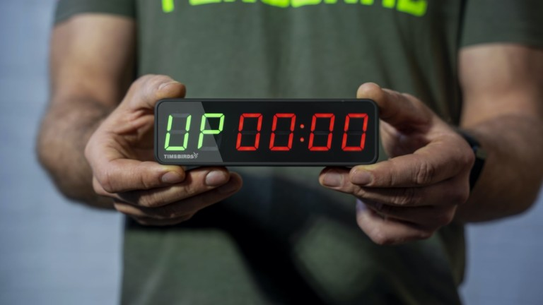 Timebirds portable workout timer