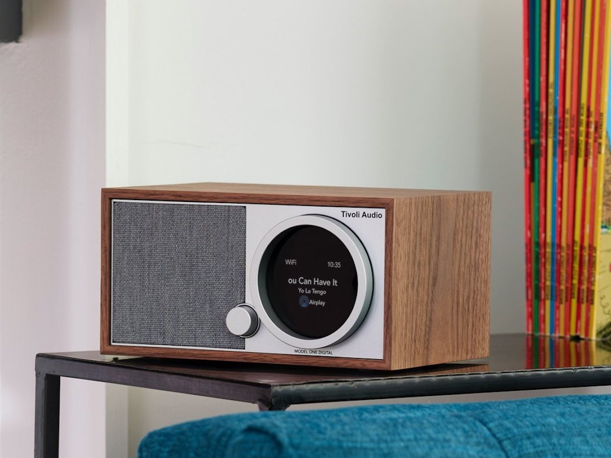 Tivoli Audio Model One Digital Gen. 2 smart radio plays music from any app and the radio