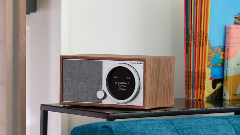 Tivoli Audio Model One Digital Gen. 2 smart radio plays music from any app and the radio