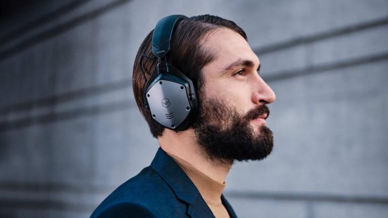 V-MODA M-200 ANC over-ear headphones offer hybrid active noise cancelation