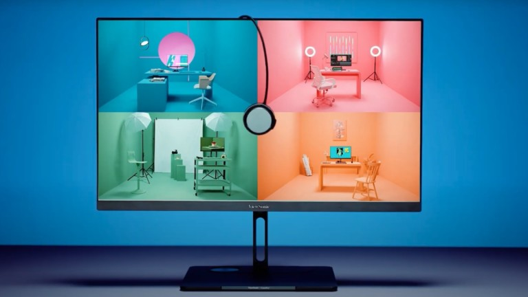 ViewSonic VP3286-8K 8K monitor uses ColorPro technology with color-blind modes
