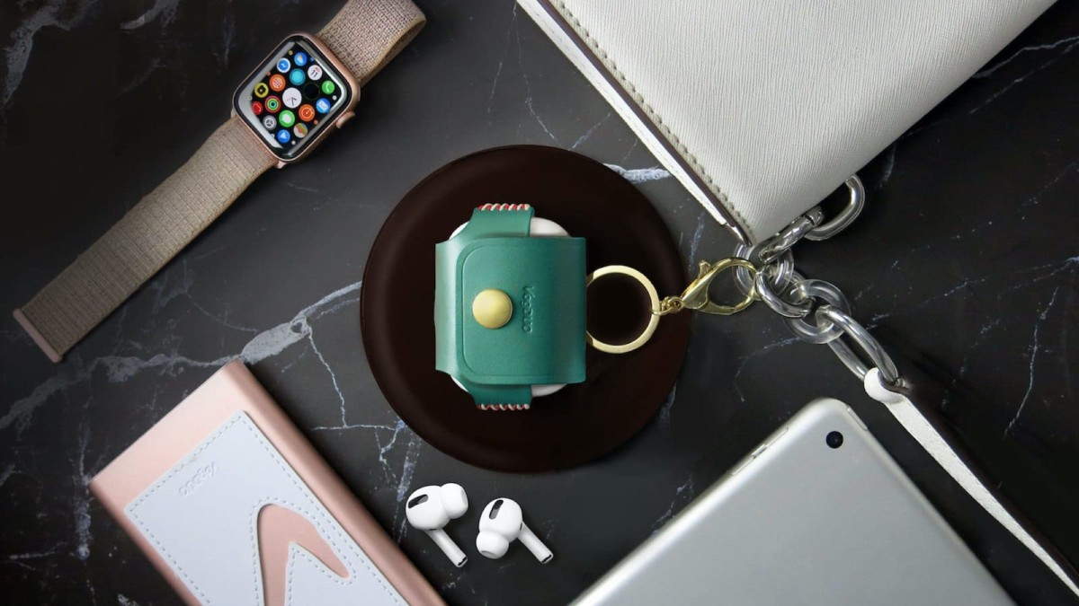 This handmade leather collection makes your tech look natural