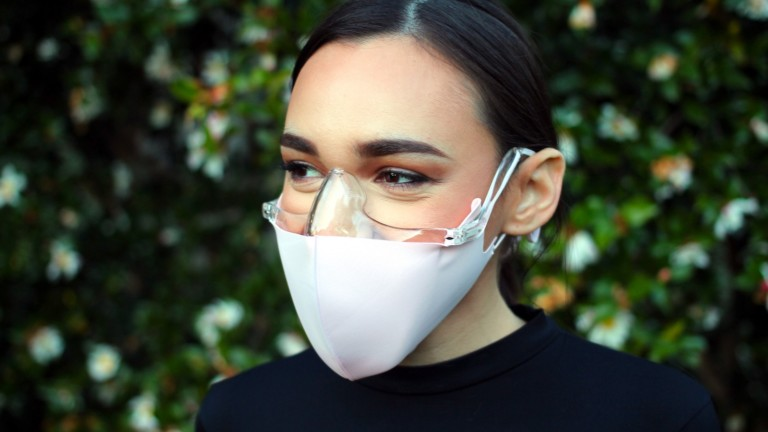Mask Shield by Wild Tortoise convenient mask accessory holds your mask off your face