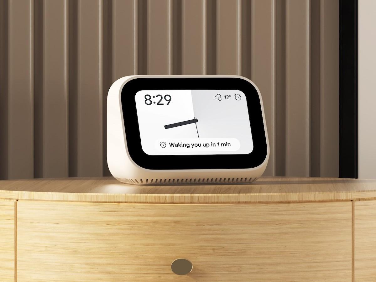 Xiaomi Mi Smart Clock also functions as a digital photo frame