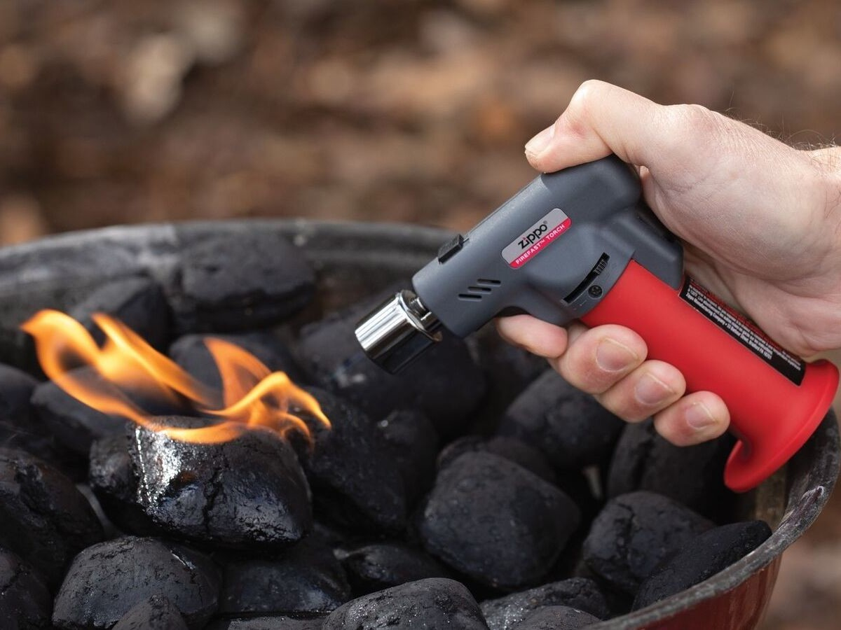 Zippo FireFast Torch adjustable flame lighter has a patented ignition that lights easily