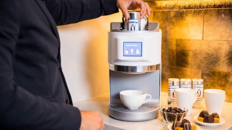 Coldsnap at CES 2021 is like a Keurig for ice-creams