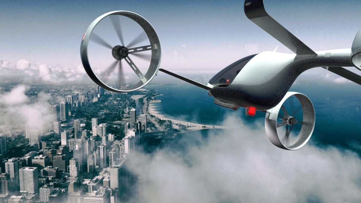 This electric VTOL aircraft works without a runway