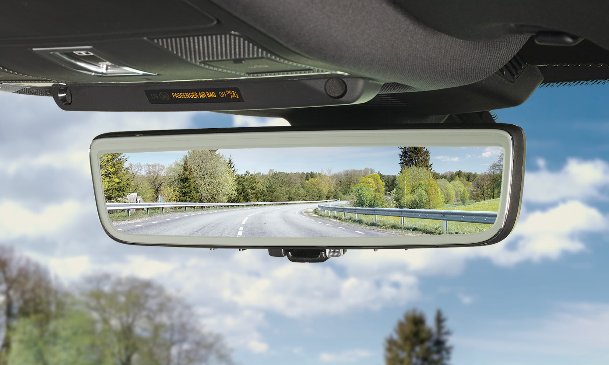 Gentex Rearview—a mirror-mounted video recorder