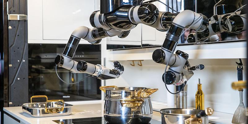 Moley Robotics Kitchen