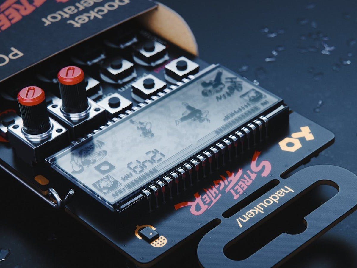 teenage engineering PO-133 Street Fighter pocket operator lets you make music on the go