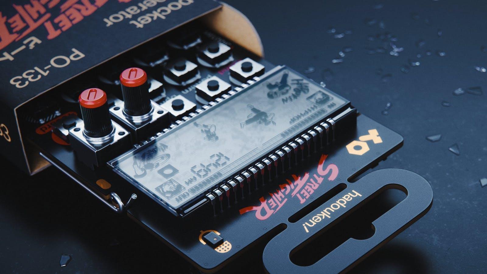 teenage engineering PO-133 Street Fighter Pocket Operator