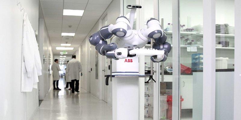 ABB YuMi collaborative robot