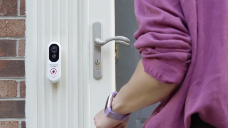 Alarm.com Touchless Video Doorbell