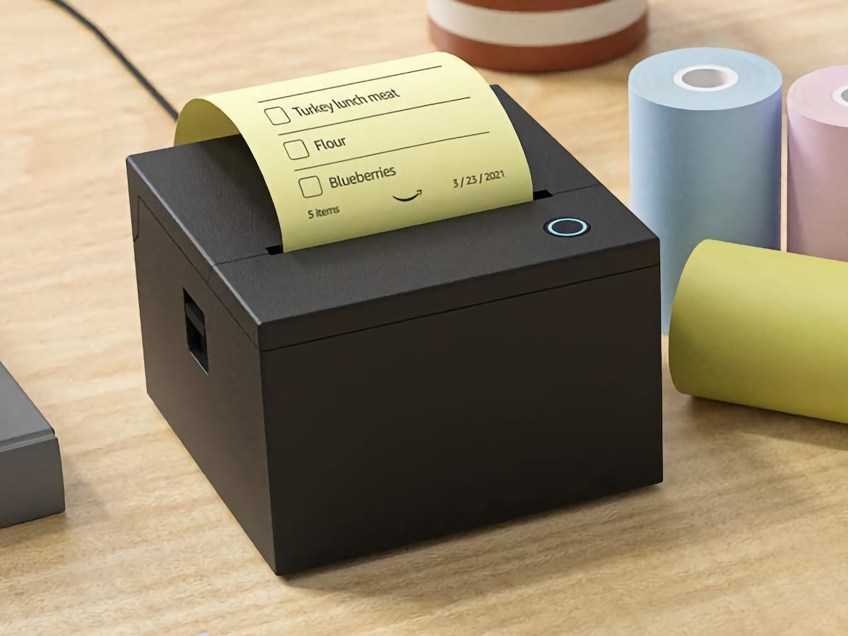 Amazon Smart Sticky Note Printer works with Alexa and your Echo device thumbnail