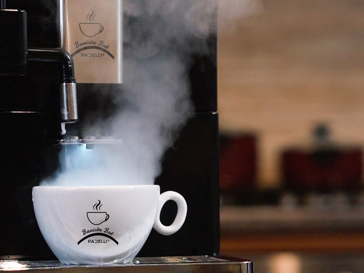 Barista Bot smart coffee machine makes your coffee at the touch of a button