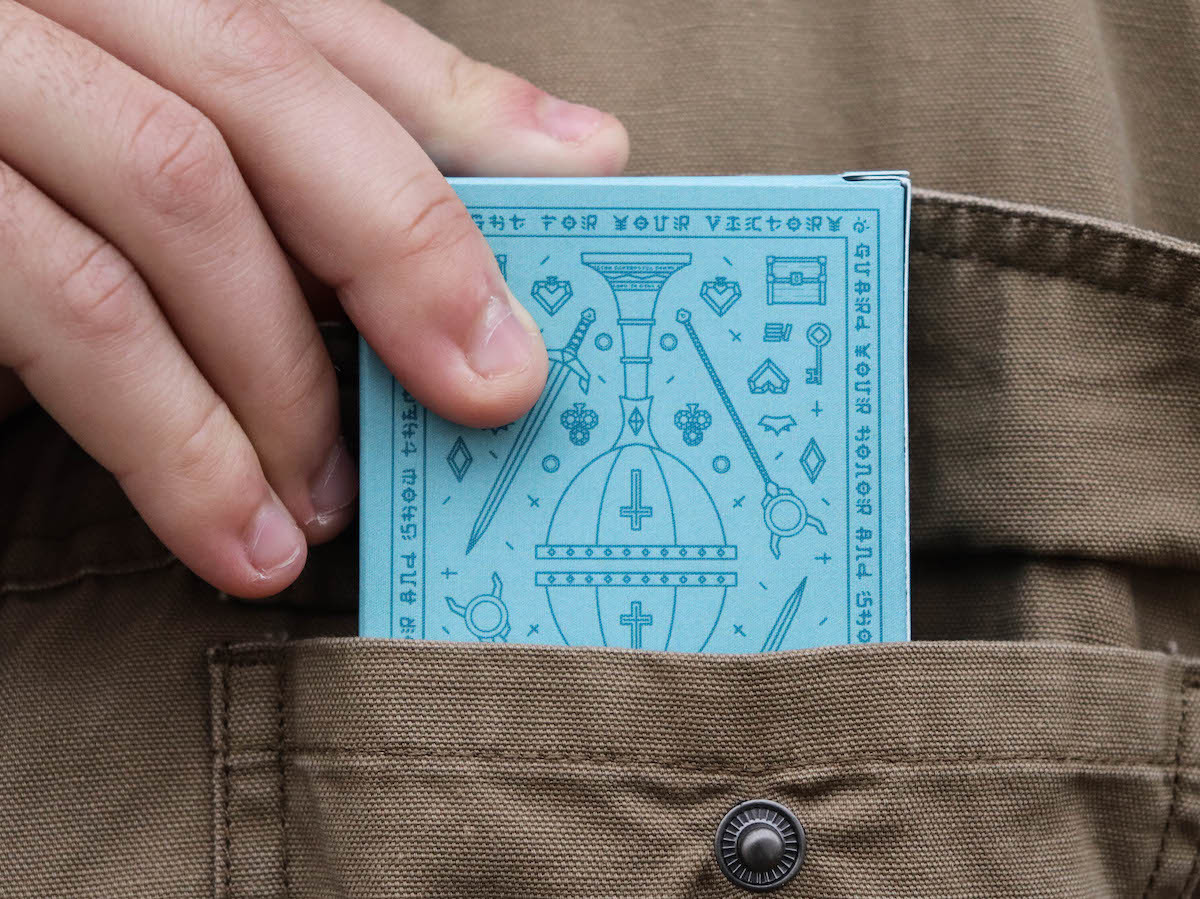 Action-Adventure Playing Cards draw inspiration from open-world, RPG video games