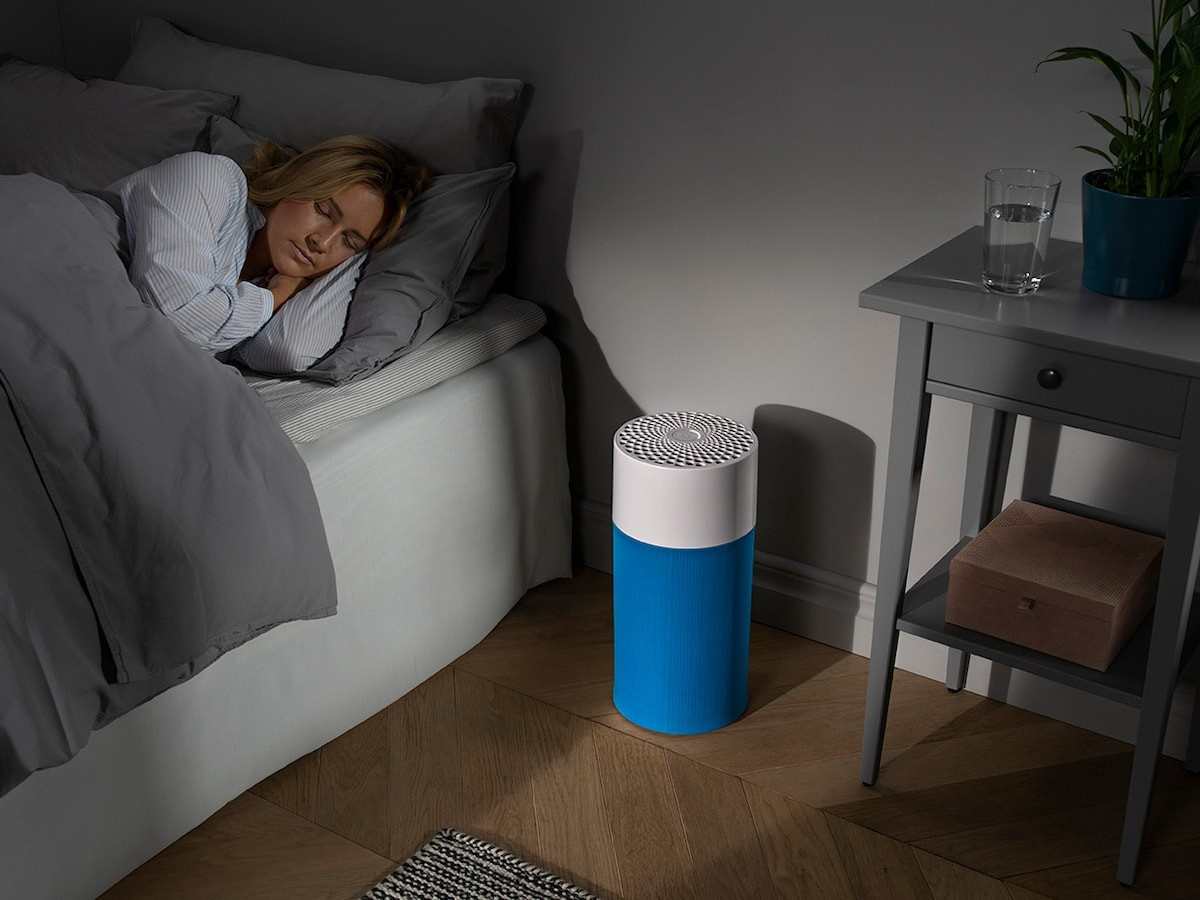 Blueair Blue air purifiers let you change their color with customizable prefilters