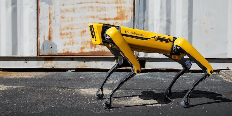 Boston Dynamics Spot Intelligent Robot Dog