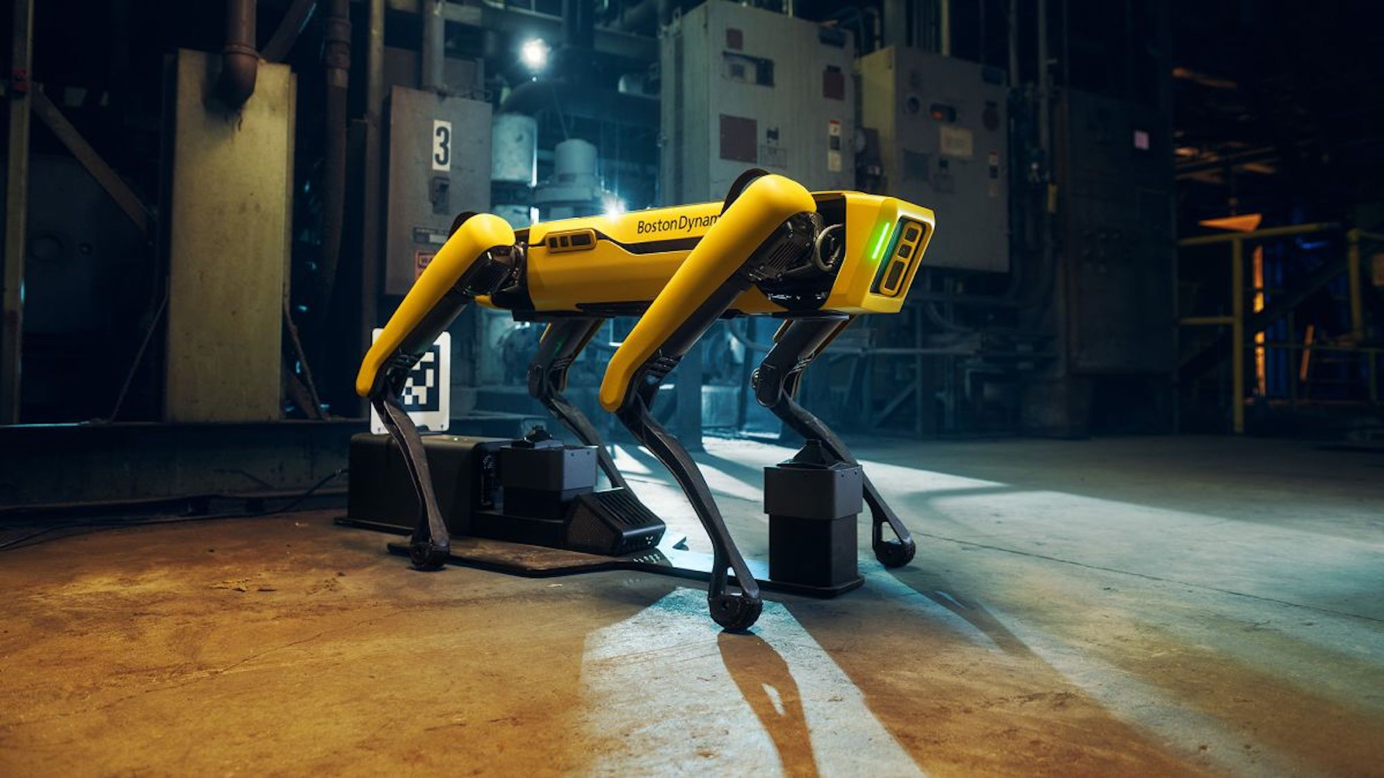 Boston Dynamics' Spot can now charge by itself