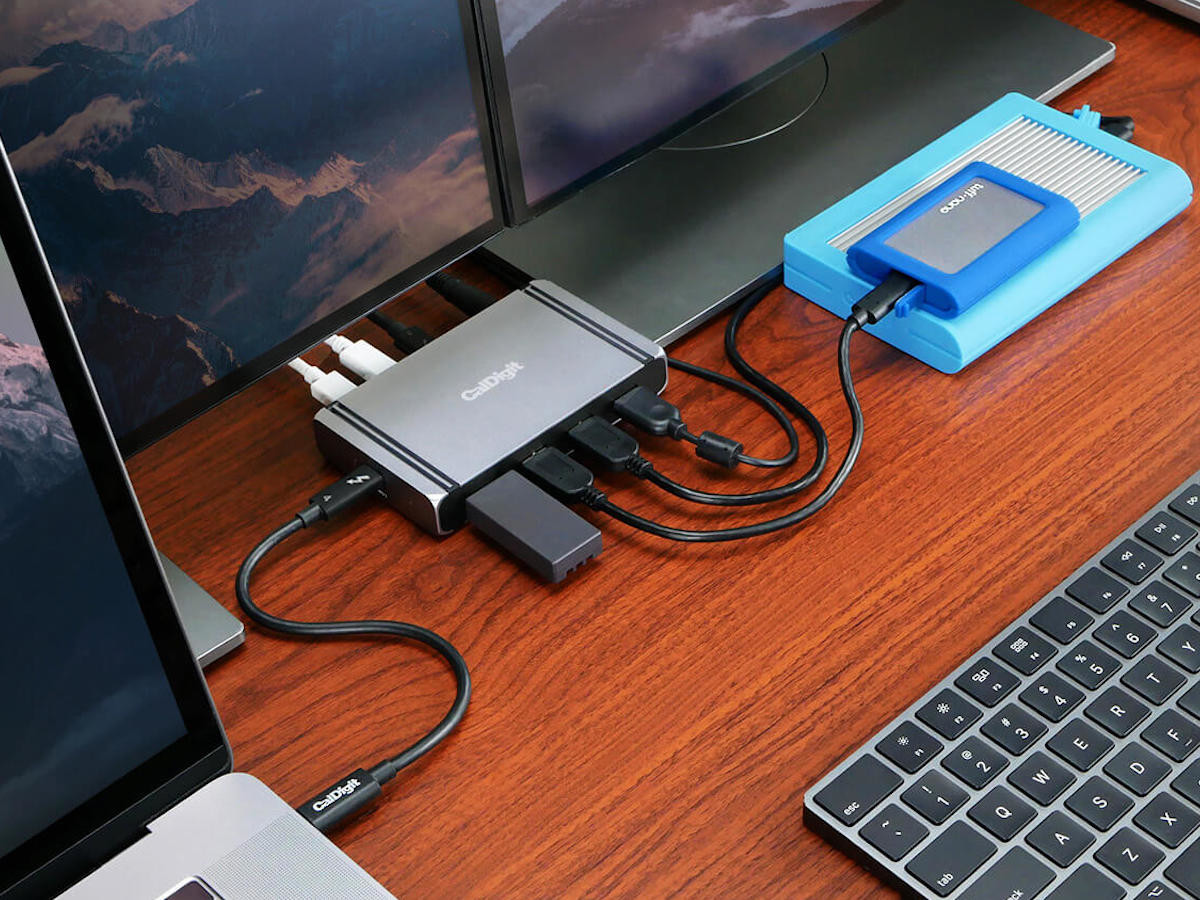 CalDigit Thunderbolt 4 Element Hub is both powerful and versatile
